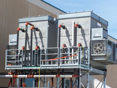 central air conditioning equipment