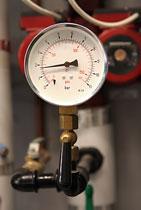 industrial air conditioning pressure gauge